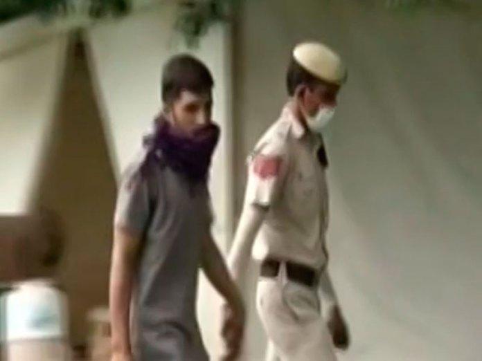 Suspect caught near Parliament