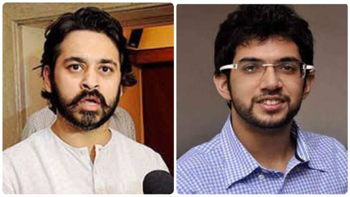 Nilesh Rane targets Aaditya Thackeray over alleged private Instagram account