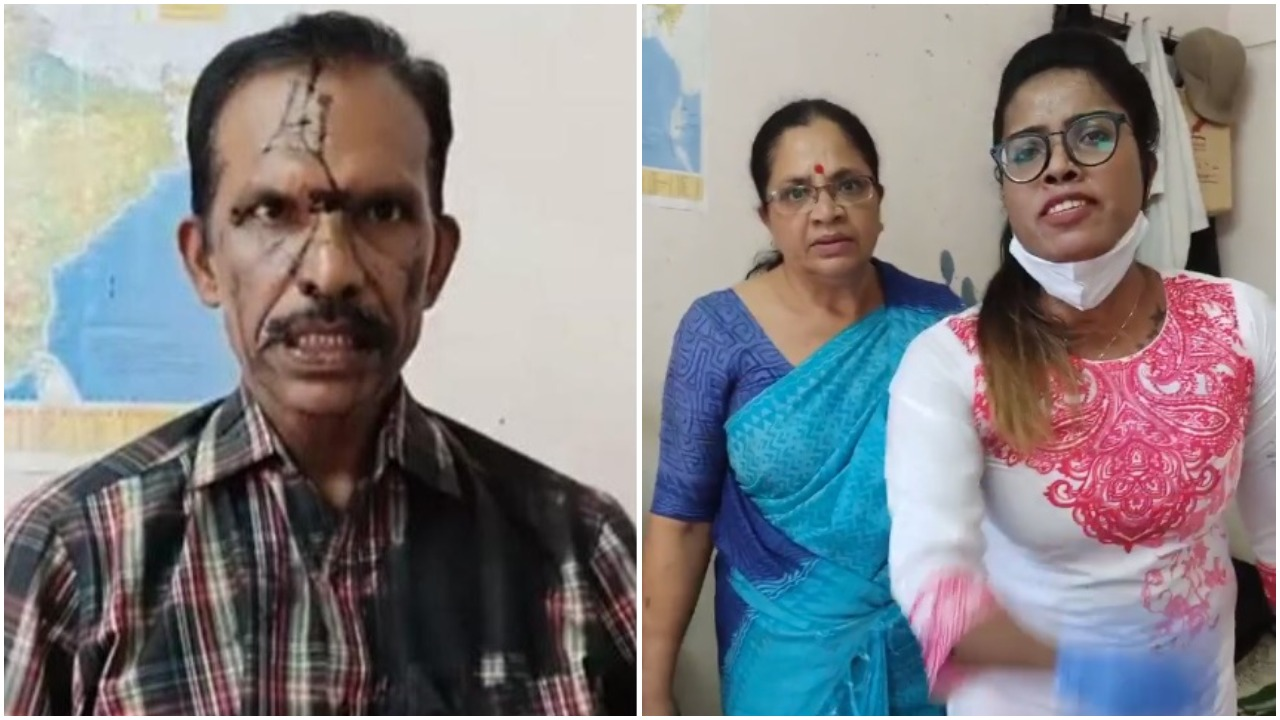 """Kerala: Women 'activists' attack YouTuber, pour motor oil on face for saying """"Feminists do not wear underwear'"""