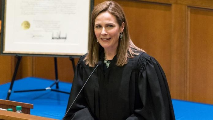 Amy Coney Barrett might replace Ginsburg