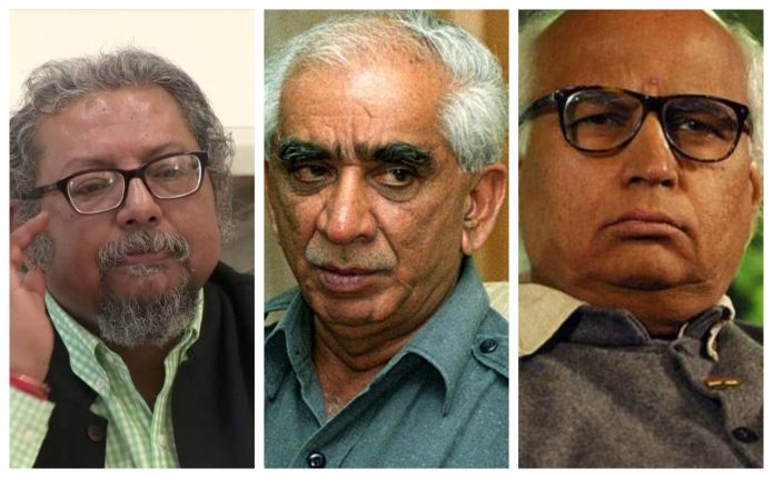Kanchan Gupta-Jaswant Singh-Sudheendra Kulkarni