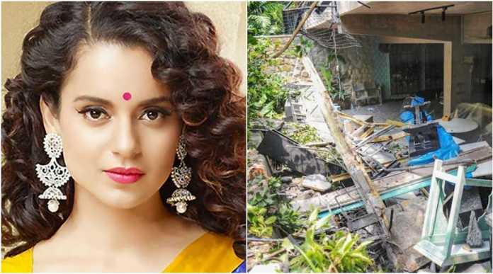 Shiv Sena just demolished Kangana's house and did not assault her because they respect women, says actor