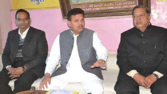 Congress leader Mahesh Pathak condemned the filing of petition seeking Lord Krishna's birthplace