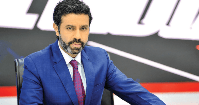 Times Now anchor Rahul Shivshankar slams