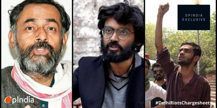 Delhi Riots Conspiracy Chargesheet Part 1: Yogendra Yadav, Umar Khalid, Sharjeel Imam, seeds of anarchy laid on 5th and the violence of 13th Dec