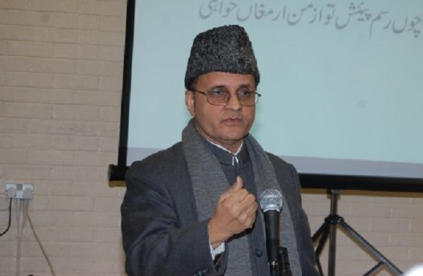 Syed Zafar Mahmood is the president of the Zakat Foundation