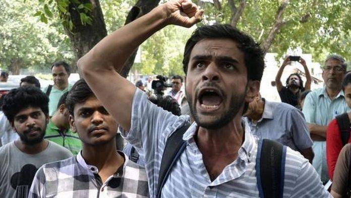 Arrest of former JNU student in Delhi riots case triggers a meltdown among liberals