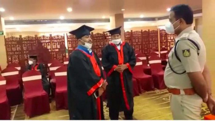 Mysuru Police bust fake honorary doctorate degree distribution ceremony in a hotel, two arrested