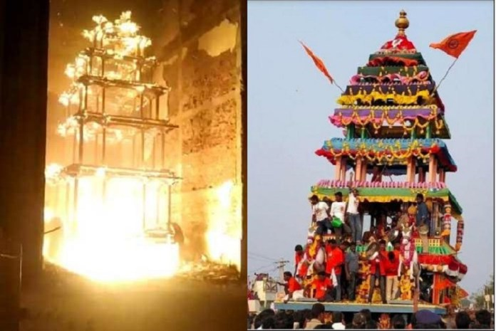 Temple attacks in Andhra Pradesh in recent months
