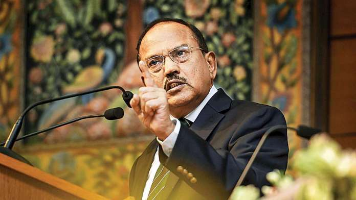 NA Ajit Doval leaves SCO meeting
