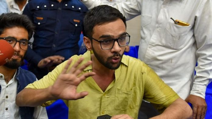 Umar Khalid grilled for hours in connection with the Delhi riots 2020