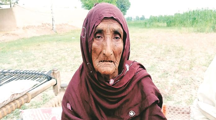 Daphia Bai was separated from her family during partition