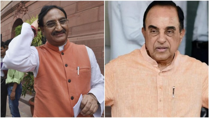 Education minister fact-checks Subramanian Swamy's claims on the number of JEE applicants