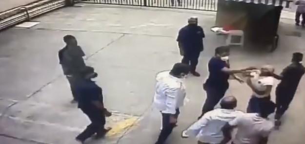 Shiv Sena goons attack Navy veteran