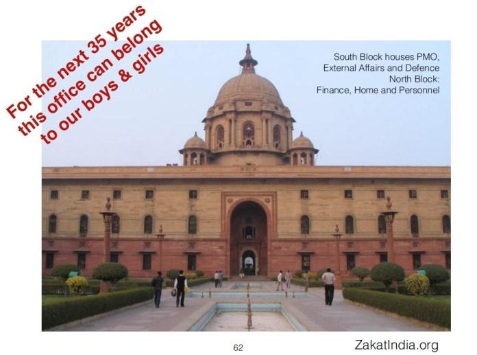 ज़कात फाउंडेशन मुसलमानों से नौकरशाही के माध्यम से भारत सरकार को पकड़ने का आग्रह करता है