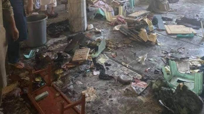 Blast inside Peshawar madarsa kills 7, injures over 70