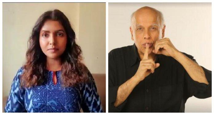 Mahesh Bhatt sues Luviena Lodh