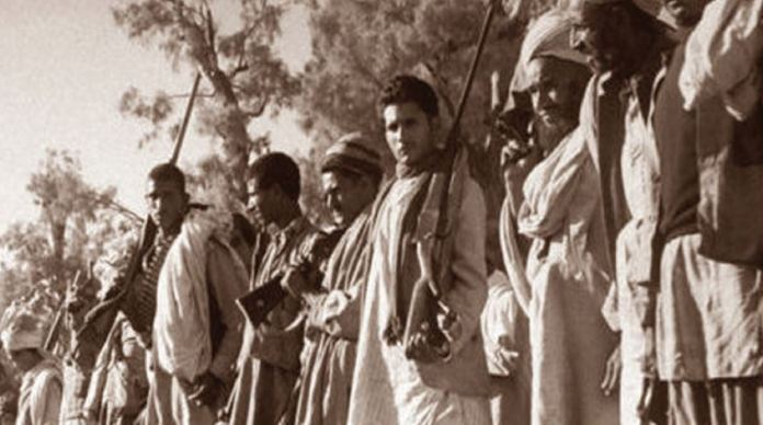 Pakistan unleashed its barbarians on Jammu and Kashmir on October 22, 1947 to rape plunder and destroy