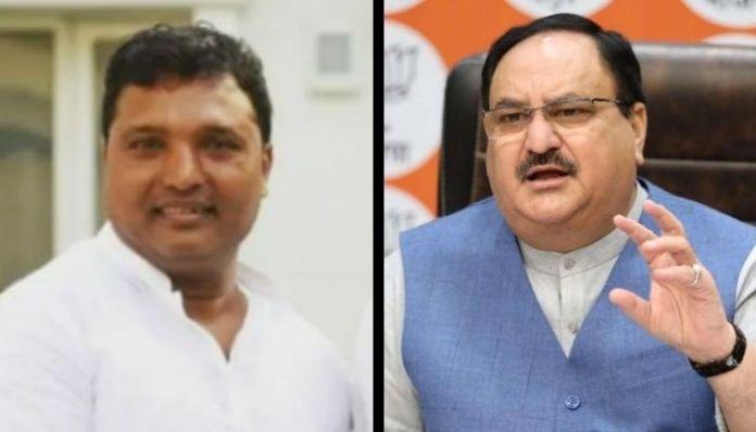 Bihar: Congress Youth President tweets fake news targeting JP Nadda