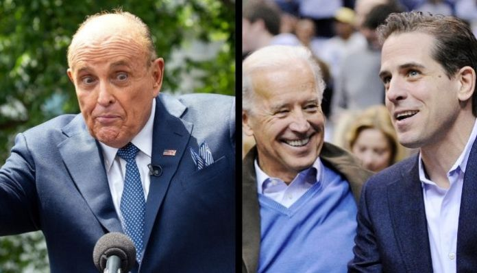 Son of Joe Biden in trouble as Trump's aide submits laptop, allegedly containing explosive material against Hunter Biden to Delaware police