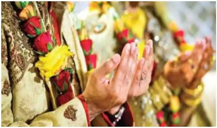 Marriage between a Muslim and a Hindu under Muslim law