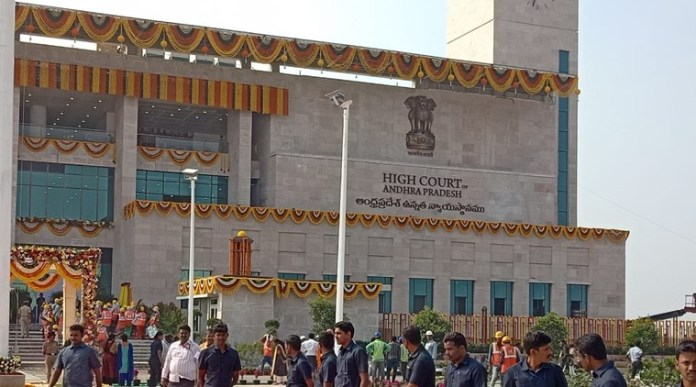 Andhra High Court and YSRCP leaders have been engaged in a verbal war