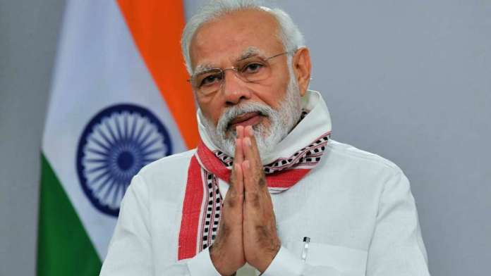 PM Modi reaches Longewala post to celebrate Diwali with Army Jawans