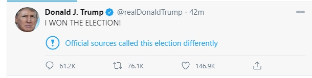 Twitter fact-checks Donald Trump