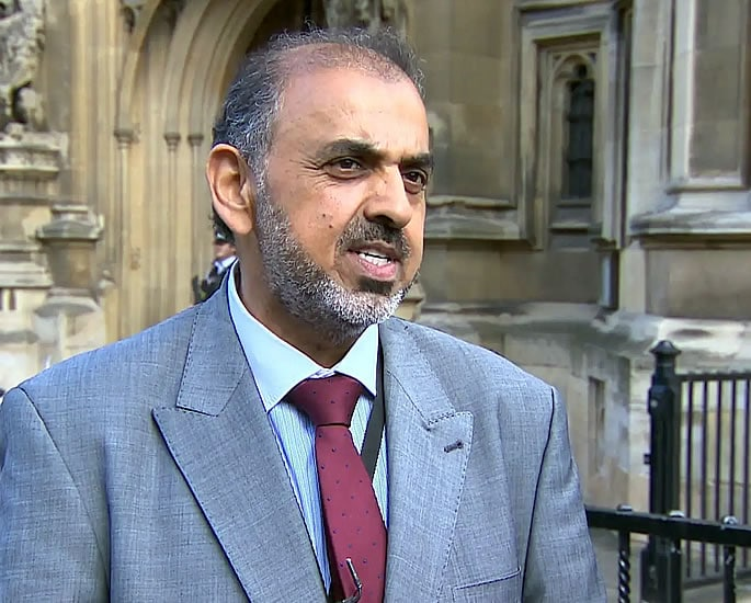 Lord Nazir Ahmed to be expelled