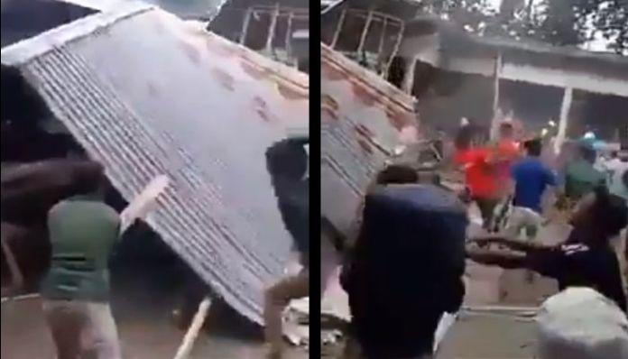 Bangladesh: Violent Islamists burn Hindu houses