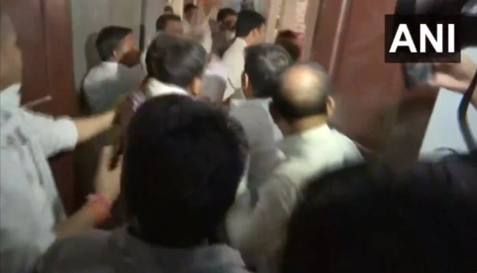 Bihar: Congress leaders engage in fist fight, verbal abuse in major showdown