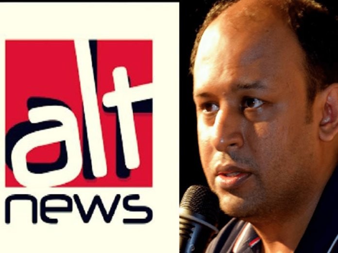 AltNews founder Pratik Sinha angered after his lies were exposed