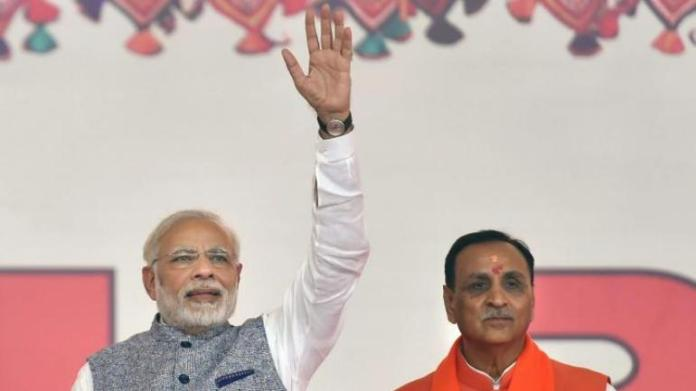 BJP headed for a landslide victory in Gujarat by-polls, leads in all 8 seats: Details of seats and vote-share