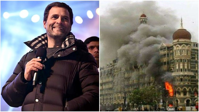 Rahul Gandhi forgets 26/11 again, remains silent like last year