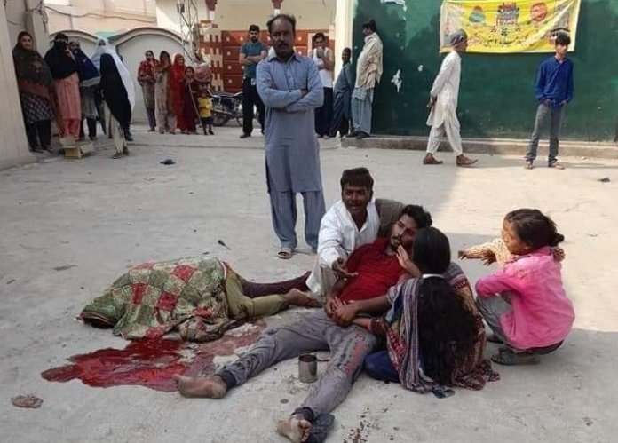 A Christian woman and her son were brutally hacked to death by Muslim fundamentalists in Pakistan's Gujranwala