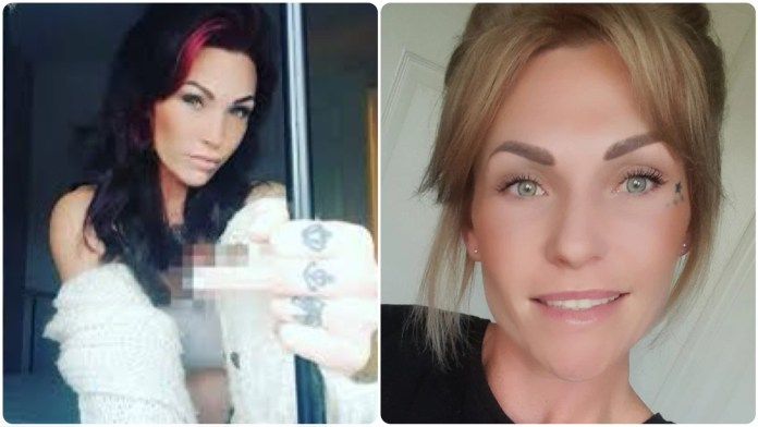 32-year-opd Teah Vincent, who was cleared by a UK court for having sex with an underage boy, opens her account on OnlyFans, a website known for hosting content by Sex Workers