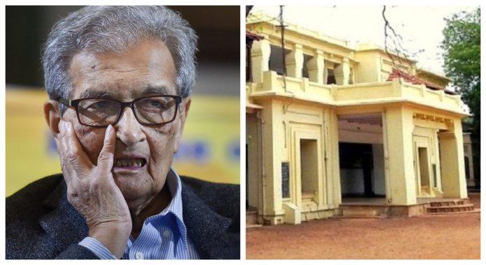 Amartya Sen Vishwa Bharati University