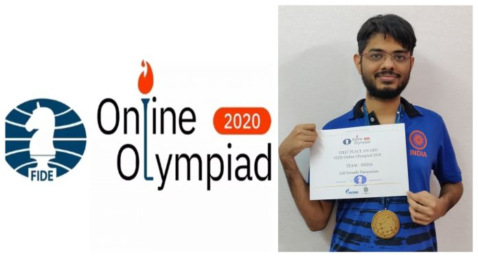 FIDE Online Chess Olympiad Medal