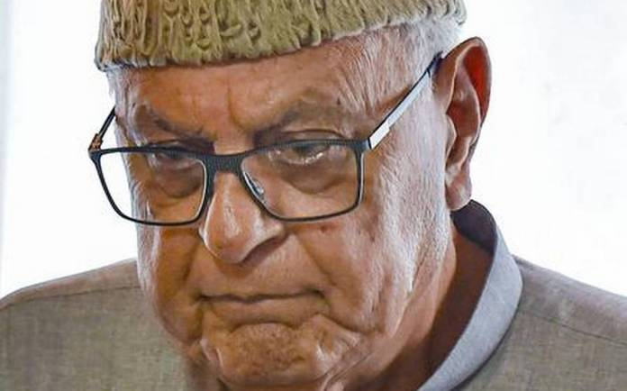 Farooq Abdullah's assets attacked