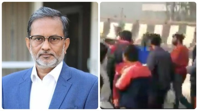 Ajit Anjum refutes allegations of being beaten up by farmers' protests after viral video claiming he was roughed up by protesters goes viral on the internet