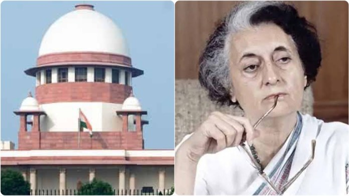 94-year-old widow files a petition in the supreme court seeking declaration of Emergency as unconstitutional
