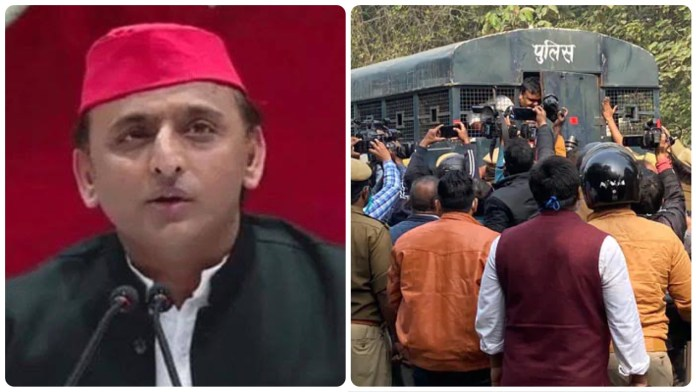 In a bid to increase political capital, SP aligns itself with farmers' protests, UP government stops them from launching a movement amidst coronavirus infection
