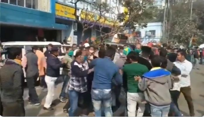 TMC goons attack party leaders, who recently defected to the BJP