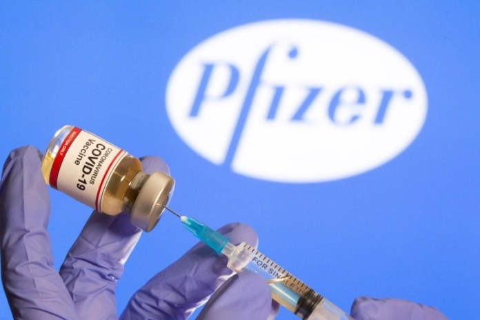 Suspected allergic reactions from Pfizer vaccine