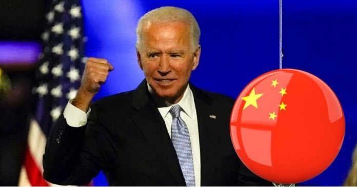 Joe Biden is compromised by China, hints Di Dongsheng