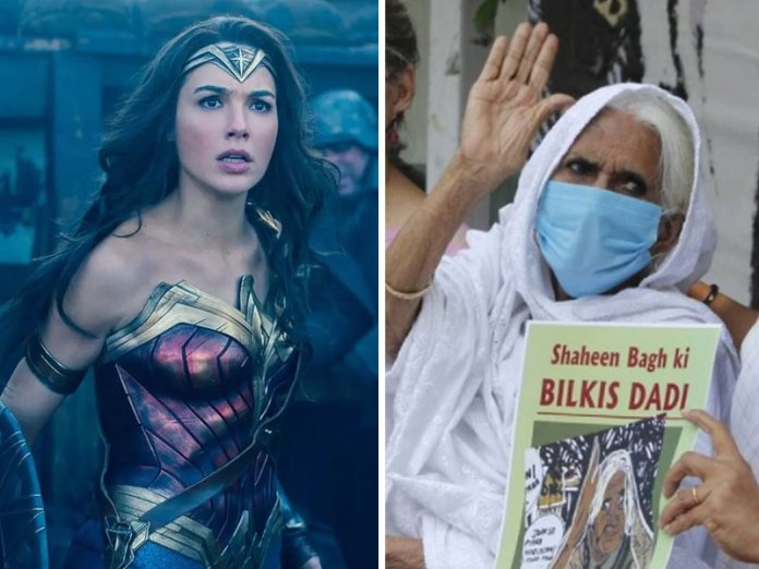 Gal Gadot faces criticism after erasing Shaheen Bagh's Islamist dadi as a woman 'fighting for women's equality' in India