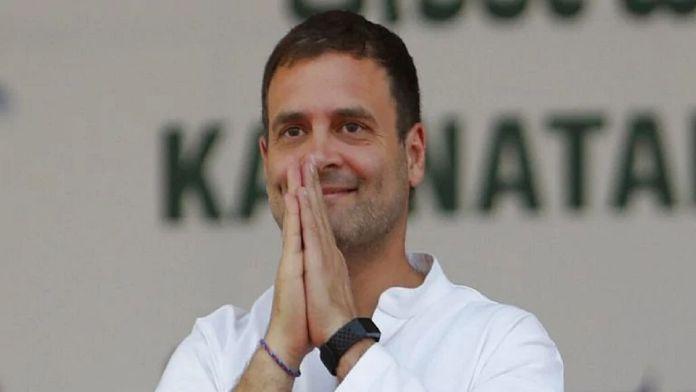 Rahul Gandhi in trouble for distorting poem of Dk Maheshwari
