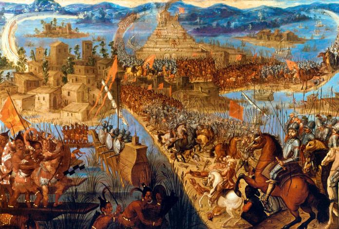 The Spanish conquest of the Aztec empire