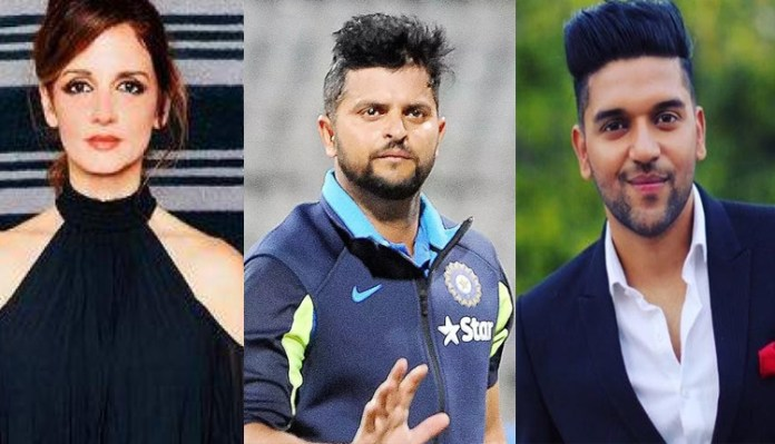 Suresh Raina, Guru Randhawa arrested. Sussanne Khan booked