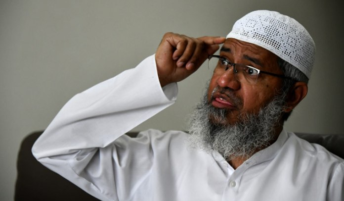 Zakir Naik had earlier this month released a video in which he was seen preaching Islamic supremacism on being asked if it is important for women to marry a Muslim man